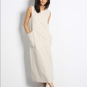 Mod Ref Harlow dress in cotton linen blend NWT